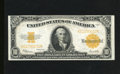 Large Size:Gold Certificates, Fr. 1173 $10 1922 Gold Certificate Very Fine+. Nice color adorns this $10 Gold that has a tight top margin....