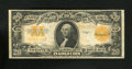 Large Size:Gold Certificates, Fr. 1187 $20 1922 Mule Gold Certificate Very Fine. A dark orange back claims this $20 Gold....
