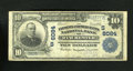 National Bank Notes:Virginia, Winchester, VA - $10 1902 Plain Back Fr. 634 The Farmers &Merchants NB Ch. # (S)6084. The purple stamped signatures hav...