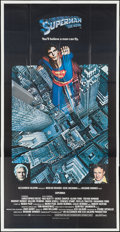 """Movie Posters:Action, Superman the Movie (Warner Brothers, 1978). Three Sheet (41"""" X 81""""). Action.. ..."""