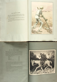 [Featured Lot]. [World War I]. Louis Raemakers. SIGNED/LIMITED. The Great War. A Neutral's Indictment <