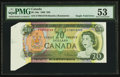 Canadian Currency: , Single Fold Error BC-50a $20 1969. ...