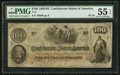 Confederate Notes:1862 Issues, T41 $100 1862 PF-28.. ...