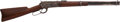 Long Guns:Slide Action, Johnson County War: The Winchester Rifle Used by Key Player MikeShonsey, with Direct Family Provenance....