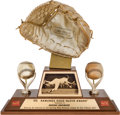 Baseball Collectibles:Others, 1974 Gold Glove Award from The Brooks Robinson Collection....