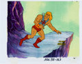 Animation Art:Production Cel, He-Man and the Masters of the Universe He-Man Production Cel(Filmation, 1983).. ... (Total: 2 Items)