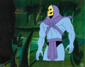 Animation Art:Production Cel, He-Man and the Masters of the Universe Skeletor ProductionCel Setup, Animation Drawing, and Production Folder Group (...(Total: 5 Items)