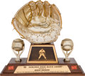 Baseball Collectibles:Others, 1967 Gold Glove Award from The Brooks Robinson Collection.. ...