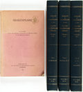 Books:Reference & Bibliography, [Shakespeare, Bibliography]. Catalog of the Manuscripts of theFolger Shakespeare Library, Washington, D.C., Vols.... (Total:4 Items)
