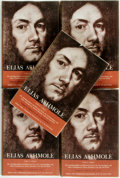 Books:Biography & Memoir, C. H. Josten. Elias Ashmole (1617 - 1692). His Autobiographicaland Historical Notes, his Correspondence, and Other Cont... (Total:5 Items)