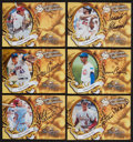 Baseball Cards:Lots, 1997 Donruss Significant Signatures Autograph Collection (6). ...