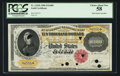 Large Size:Gold Certificates, Fr. 1225b $10,000 1900 Gold Certificate PCGS Choice About New 58.. ...