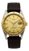 """Timepieces:Wristwatch, Rolex Ref. 1625 """"Thunderbird"""" Two Tone Oyster Perpetual Datejust, circa 1965. ..."""
