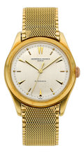 Timepieces:Wristwatch, Vacheron & Constantin Ref. 4870 Gold Automatic Wristwatch, circa 1950's. ...