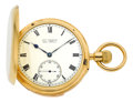 Timepieces:Pocket (post 1900), Charles Frodsham AD. Fmsz, By Appointment to the Queen, Very Fine Gold Minute Repeater, No. 08610. ...