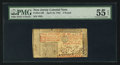 Colonial Notes:New Jersey, New Jersey April 16, 1764 £3 PMG About Uncirculated 55 EPQ.. ...