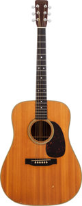 Musical Instruments:Acoustic Guitars, 1962 Martin D-28 Natural Acoustic Guitar, Serial # 181520....
