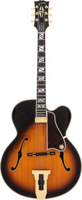 Musical Instruments:Electric Guitars, 1976 Gibson Johnny Smith Sunburst Archtop Electric Guitar, Serial #00100280....