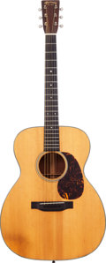 Musical Instruments:Acoustic Guitars, 1940 Martin 000-18 Natural Acoustic Guitar, Serial # 75023....