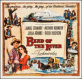 """Movie Posters:Western, Bend of the River (Universal International, 1952). Six Sheet (77.75"""" X 80""""). Western.. ..."""