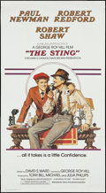 "Movie Posters:Crime, The Sting (Cinema International, 1973). International Three Sheet(41"" X 77""). Crime.. ..."