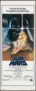"Movie Posters:Science Fiction, Star Wars (20th Century Fox, 1977). Insert (14"" X 36""). ScienceFiction.. ..."