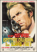 "Movie Posters:Crime, Dirty Harry (Dear International, R-1971). Italian 2 - Foglio(39.25"" X 55""). Crime.. ..."