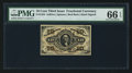 Fractional Currency:Third Issue, Fr. 1254 10¢ Third Issue PMG Gem Uncirculated 66 EPQ.. ...