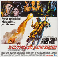 "Welcome to Hard Times (MGM, 1967). Six Sheet (78.5"" X 79.5""). Western"