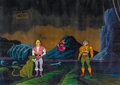 Animation Art:Production Cel, He-Man and the Masters of the Universe Prince Adam, Cringer,Orko, and Man-At-Arms Production Cel Setup, Animation Dra...(Total: 9 Items)