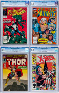 Modern Age (1980-Present):Miscellaneous, Marvel Silver and Modern Age CGC-Graded Comics Group of 4 (Marvel, 1966-90).... (Total: 4 Comic Books)