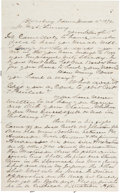 Miscellaneous:Ephemera, Gunfight in the Old West: A Delightful 1874 Letter Detailing aShootout....