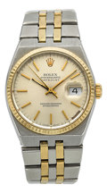 Timepieces:Wristwatch, Rolex Ref. 17013 Steel & Gold Oysterquartz Datejust. ...