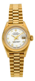 Timepieces:Wristwatch, Rolex Ref. 69178 Lady's Gold President. ...