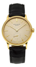 Timepieces:Wristwatch, Patek Philippe Very Fine Ref. 3425J Gold Calatrava Automatic, circa1960. ...