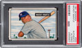 Baseball Cards:Singles (1950-1959), 1951 Bowman Mickey Mantle #253 PSA Authentic (Altered). ...