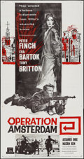 """Movie Posters:War, Operation Amsterdam & Others Lot (Rank, 1959). Three Sheets (6)(approx. 41"""" X 78.5""""). War.. ... (Total: 6 Items)"""