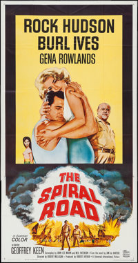 """The Spiral Road & Others Lot (Universal, 1962). Three Sheets (8) (41"""" X 77"""" - 41"""" X 79""""). Ad..."""