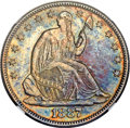 Seated Half Dollars, 1887 50C WB-101 -- Improperly Cleaned -- NGC Details. Unc....