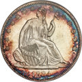 Seated Half Dollars, 1884 50C Repunched Date, WB-102, MS66 PCGS....