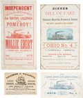 Transportation:Nautical, Steamboat Ephemera and More.... (Total: 4 Items)