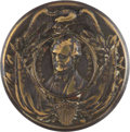 Political:Small Miscellaneous (pre-1896), Franklin Pierce: Highly Desirable Clothing Button....