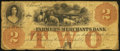 Obsoletes By State:Iowa, Ashland, IA-Farmers and Merchants Bank $2 Oct. 20, 1857 Oakes 4-2. ...