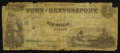 Obsoletes By State:Iowa, Bentonsport, IA- Town of Bentonsport $1 Aug. 1857 Oakes 8-1. ...