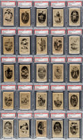 "Baseball Cards:Sets, 1922 V61 Neilson's Chocolate Type II (120) - #1 ""All-Time Finest"" on the PSA Set Registry! ..."