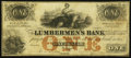 Obsoletes By State:Iowa, Dubuque, IA- Lumbermen's Bank of E.L. Fuller & Co. $1 Sep. 1, 1857 Oakes 55-1. ...