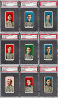 Baseball Cards:Sets, 1910 E90-2 American Caramel High Near Set (9/11). ...