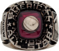 Baseball Collectibles:Others, 1976 Major League Baseball All-Star Game Ring Presented to RodCarew....