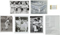 Baseball Collectibles:Others, 1950's-70's Original Photographs from The Brooks RobinsonCollection Lot of 75....