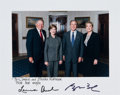 Baseball Collectibles:Photos, 2004 President George W. Bush & First Lady Laura Bush SignedPhotograph from The Brooks Robinson Collection. ...